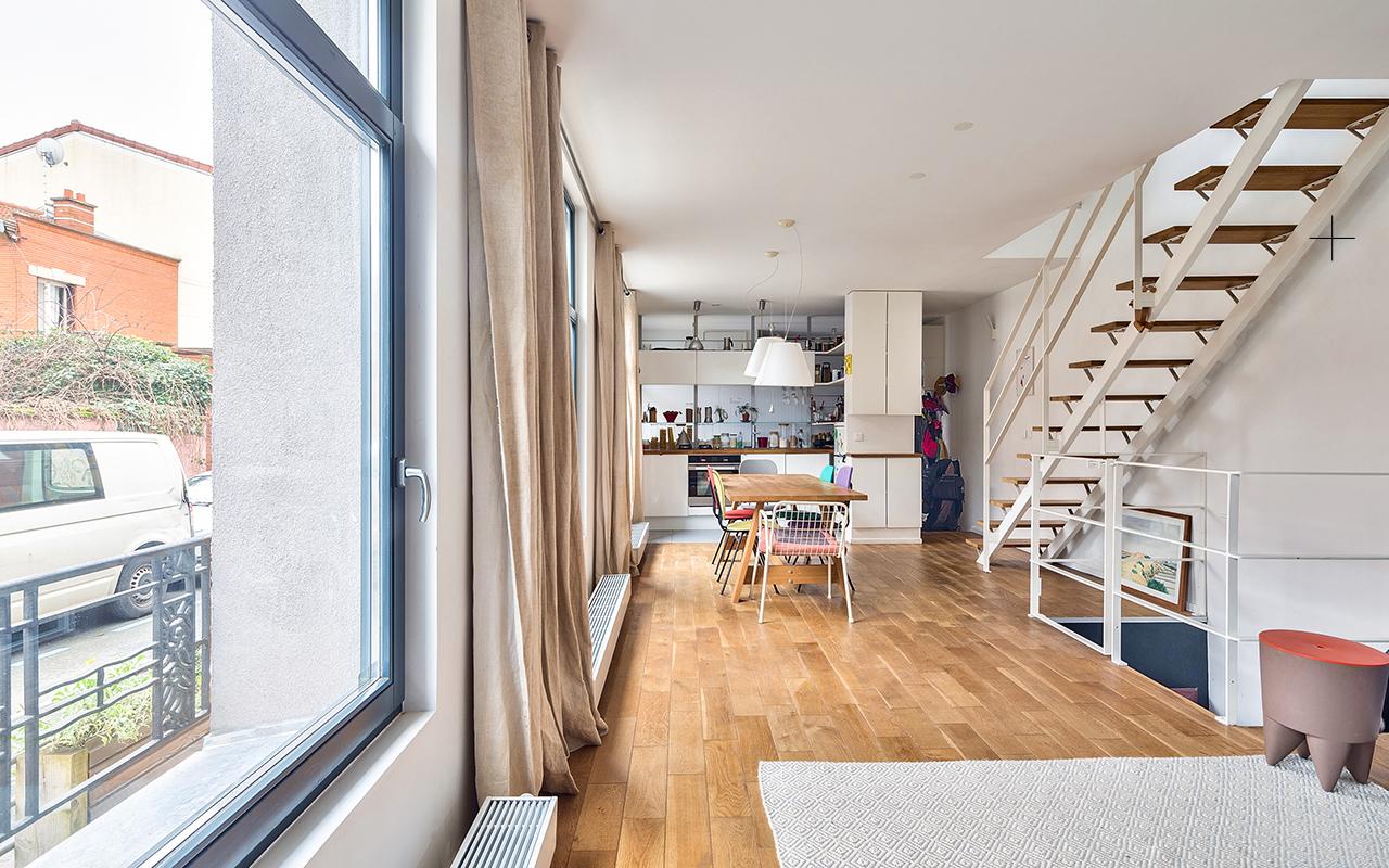 design espace/ maison de ville